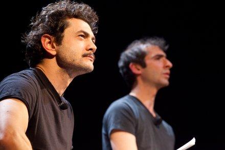 Vinicio Marchioni e David Lescot